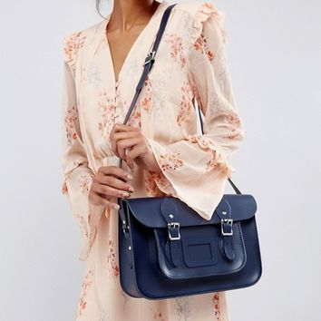Leather Satchel Company 12.5 Classic Satchel at asos.com