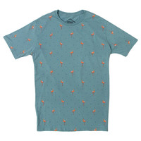 Altru Apparel Flamingos Pattern mens shirt