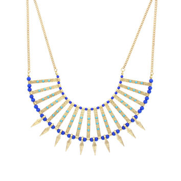 Open Spiked Collar Necklace