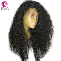 250% Density 360 Lace Frontal Wigs Pre Plucked With Baby Hair Eva Hair Brazilian Remy Lace Front Human Hair Wigs For Black Women