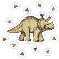 Triceratops & Triangles