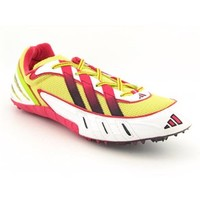 Adidas Meteor 2 Sp Track and Field Cleats Shoes Yellow Mens