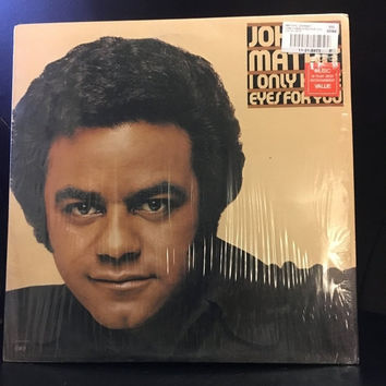 5 DAY SALE Vintage 1976 Johnny Mathis I Only Have Eyes For You Vinyl Record Good Condition