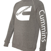 cummins dodge cummins fleece crewneck sweatshirt