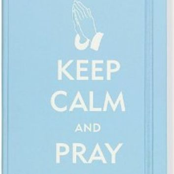 Keep Calm and Pray Journal (Diary, Notebook)