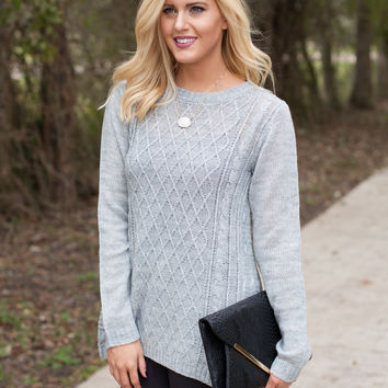 Silver Bells Knit Sweater