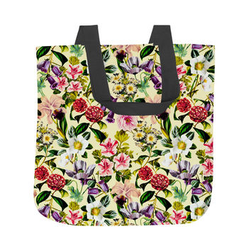 Summer Botanical X Tote Bag