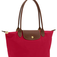 Longchamp 'Small Le Pliage' Shoulder Bag - Red
