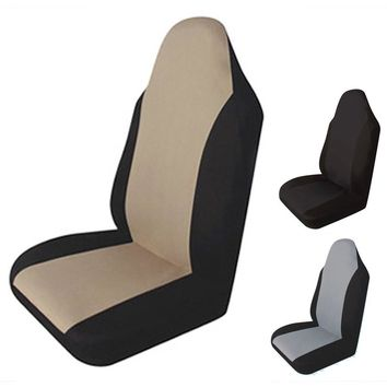 Universal Car Seat Covers Front Car Seat Cover Single-piece Packing Four Seasons Waterproof Anti-Dust Cushion Car Styling