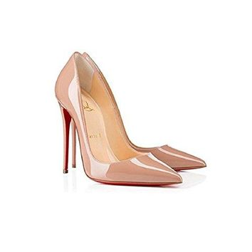 christian& louboutin Decollete 554 120 mm. (38)