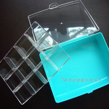 Beads storage box, jewellery, accessories, cosmetics, small items organizing packaging painting container id1360090