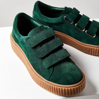 Hollie Three-Strap Creeper Sneaker | Urban Outfitters