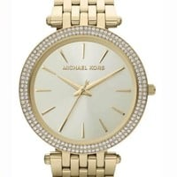 MICHAEL KORS LADIES MK3191 DARCI GOLD BRACELET WATCH