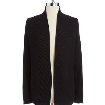 Vince Camuto Ribbed Cardigan