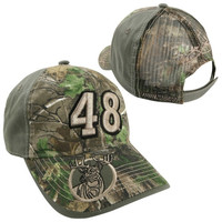 Chase Authentics Jimmie Johnson Tracker Adjustable Hat - Realtree Camo
