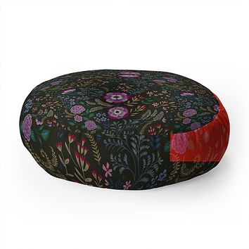 Pimlada Phuapradit Misty Willow Floor Pillow Round