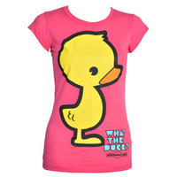 Newbreed Girl What The Duck t shirt – Newbreed Girl tee – womens t shirts UK