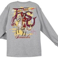 Guy Harvey FSU Seminoles Long Sleeve Back-Print T-Shirt