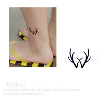 deer temporary tattoo - Temporary Tattoo T070