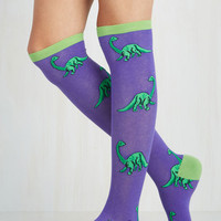 Dorm Decor You're Dino-mite! Socks Size OS by ModCloth