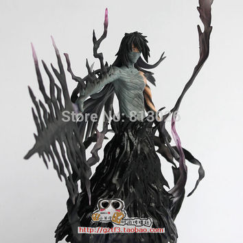 17.5cm Bleach Kurosaki Ichigo Action Figure PVC Collection figures toys for christmas gift brinquedos with Retail box