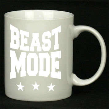 Beast Mode Gym Work Out For Ceramic Mugs Coffee *