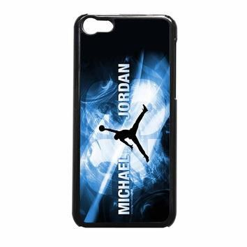 Michael Jordan Flying NBA Basket iPhone 5c Case