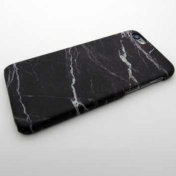 Black Marble Stone iPhone 57 se 5s 6 6s Plus Case Cover + Nice Gift Box 268