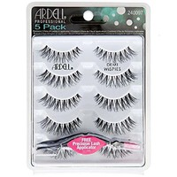 Ardell - Strip Lashes Multipacks - 5 Pack Demi Wispies Black