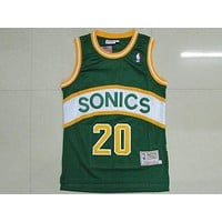 Nba Seattle Supersonics #20 Gary Payton Swingman Jersey | Best Deal Online