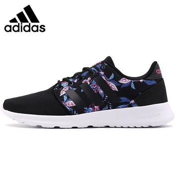 Original New Arrival 2017 Adidas NEO Label CLOUDFOAM QT RACER W Women's Skateboarding