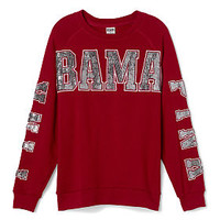 University of Alabama Limited Edition Gym Crew - PINK - Victoria's Secret
