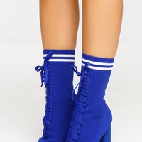 Brooklyn Booties - Blue