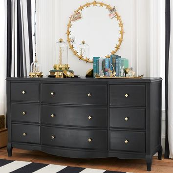 The Emily + Meritt Lilac 9-Drawer Dresser