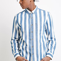 Broad-Striped Cotton Shirt
