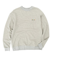 GOLF 3D MINI LOGO CREWNECK GREY