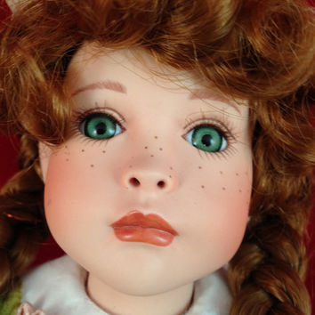 Porcelain Doll, Paradise Galleries Treasury Collection Kelly Doll by Patricia Rose Musical
