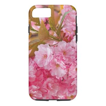 Pink Flowers iPhone 8/7 Case