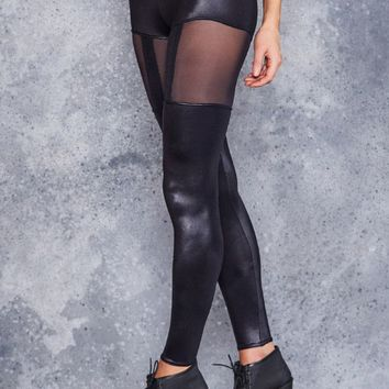 SUSPENDER LEGGINGS - LIMITED