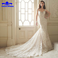 Vestido De Noiva Renda 2017 Vintage Lace Backless Wedding Dresses Bride Sexy Civil Mermaid Wedding Gowns 2017 Vestidos Casamento