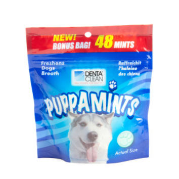 Denta Clean Puppamints Dog Mints | Breath Fresheners | PetSmart