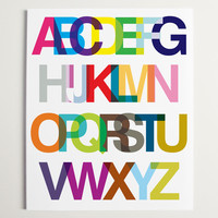 An Alphabetic Ode to Helvetica