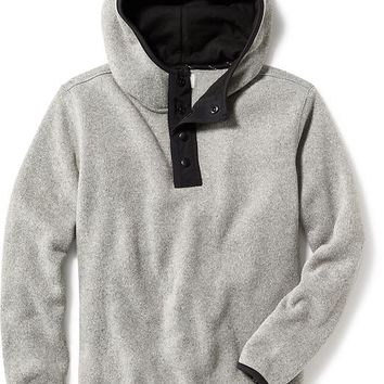 Old Navy Hooded Henley Pullover