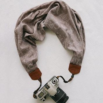 Autumn Weather Scarf Camera Strap