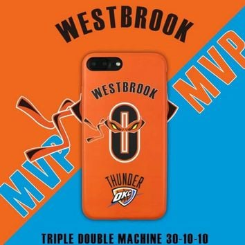 OKC MVP Russell Westbrook 0 Cell Phone Cases For iphone 6 6s 6Plus 6sPlus 7 7Plus Ninja Turtles