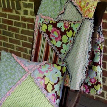 Springtime Gypsy Quilt and Pillow