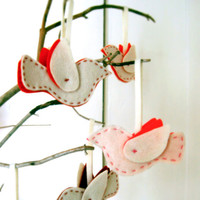 Purl Soho: Felt Bird Ornaments Kit