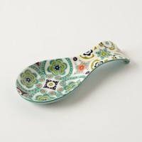 Okuno Spoon Rest by Anthropologie in Multi Size: Spoonrest Kitchen