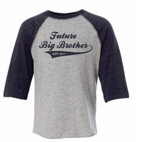 Future Big Brother, Promotion Tee, Brother, Siblings, Shirts for Photos, Maternity Photos, Big Brother
