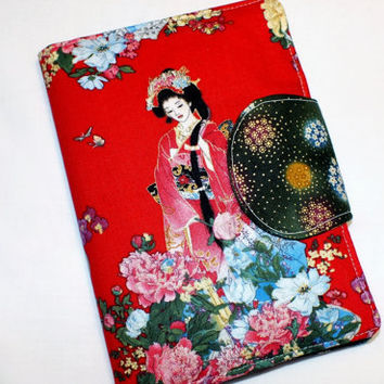 Geisha Kindle eReader Cover Kindle Case Cover Nook Cover Kobo Cover Custom eReader Cover